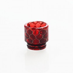 Authentic Vapesoon DT270-R 810 Replacement Drip Tip for TFV8 / TFV12 Tank / Goon / Kennedy / Reload RDA - Red, Resin, 16mm