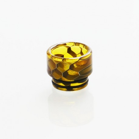 Authentic Vapesoon DT269-Y 810 Replacement Drip Tip for TFV8 / TFV12 Tank / Goon / Kennedy / Reload RDA - Yellow, Resin, 13mm