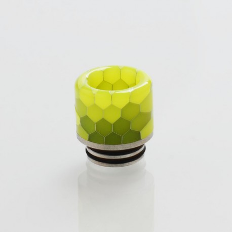 Authentic Vapesoon DT263-Y 810 Replacement Drip Tip for TFV8 / TFV12 Tank / Goon / Kennedy / Reload RDA -Yellow, Resin, 18mm
