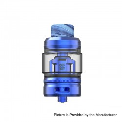 Authentic OFRF NexMesh Sub-Ohm Tank Atomizer - Blue, 4ml / 5ml, 0.2ohm, 25mm Diameter