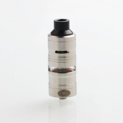 ShenRay Gevolution V2 Style Mesh RDTA Rebuildable Dripping Tank Atomizer - Silver, 316 Stainless Steel, 4.5ml, 25mm Diameter