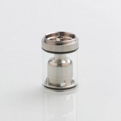 Authentic Ambition-Mods Glass Tank + Inner Chamber + Chimney Set for GATE MTL RTA - Silver + Transparent, 3.5ml