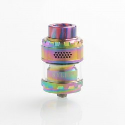 Authentic Vandy Vape Kylin M RTA Rebuildable Tank Atomizer - Rainbow, 3ml / 4.5ml, 24mm Diameter
