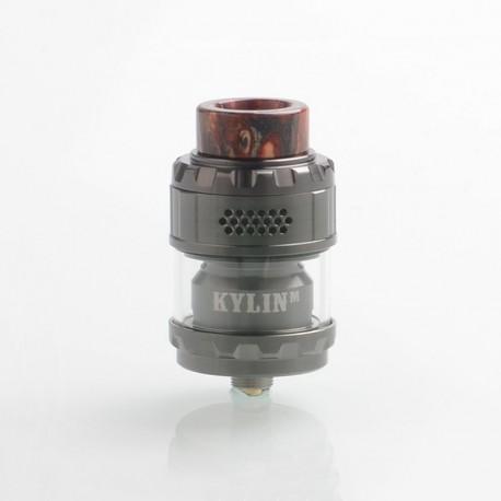 Authentic Vandy Vape Kylin M Mesh RTA Rebuildable Tank Atomizer - Gun Metal, 3ml / 4.5ml, 24mm Diameter