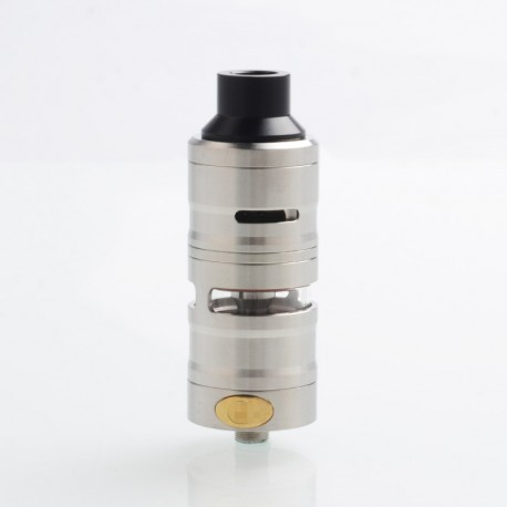 Vapeasy Gevolution V2 Style Mesh RDTA Rebuildable Dripping Tank Atomizer - Silver, 316 Stainless Steel, 4ml, 25mm Diameter