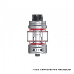 Authentic SMOKTech SMOK TFV16 Sub Ohm Tank Atomizer Standard Edition - Silver, Stainless Steel, 9ml, 0.17ohm, 32mm Diameter