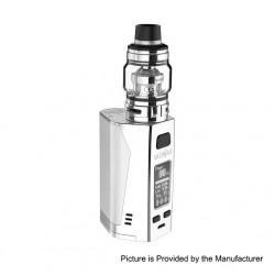 Authentic Uwell Valyrian 2 II 300W TC VW Box Mod + Tank Atomizer Kit - White, 5~300W, 6ml, 3 x 18650