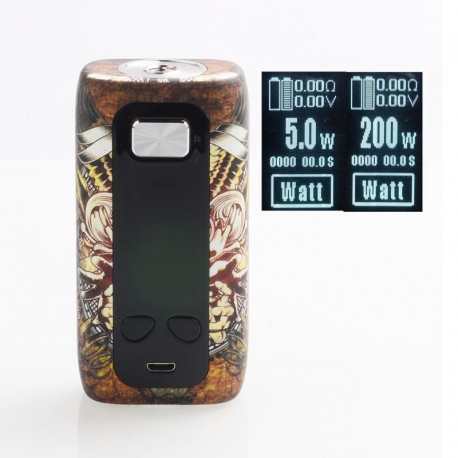 Authentic ThinkVape Thor 200W TC VW Variable Wattage Box Mod - Magician, ABS, 5~200W, 2 x 18650