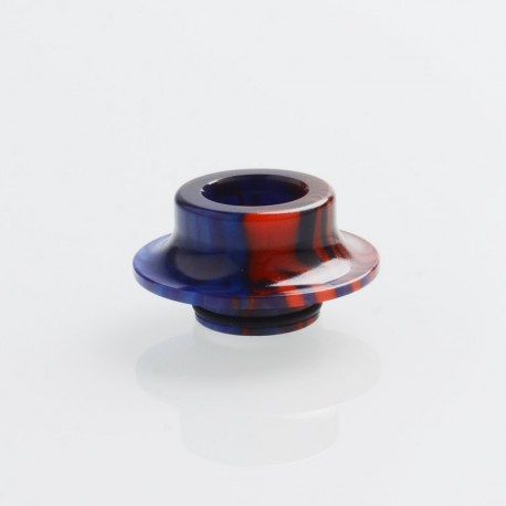 Authentic Vapesoon DT230-BR 810 Replacement Drip Tip for TFV8 / TFV12 Tank / Goon / Kennedy / Reload - Bluish Red, Resin, 11.3mm