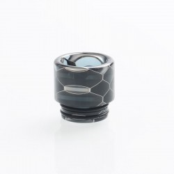Authentic Vapesoon DT270-H 810 Replacement Drip Tip for TFV8 / TFV12 Tank / Goon / Kennedy / Reload RDA - Black, Resin, 16mm