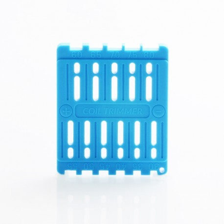 Authentic Coil Father Coil Trimming Tool for RDA / RTA / RDTA DIY Building - Blue