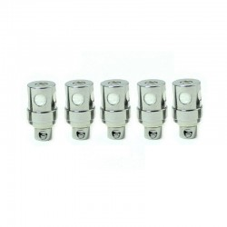 SXK Replacement Ceramic Coil Head for Bantam Box BB Mini Box Mod - Silver, 1.5ohm (5 PCS)