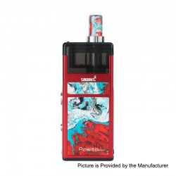 Authentic Smoant Pasito 25W 1100mAh Mod Pod System Starter Kit - Red, 3ml