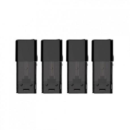 Authentic Voopoo Drag Nano Replacement Pod Cartridge - 1ml, 1.8 Ohm (4 PCS)