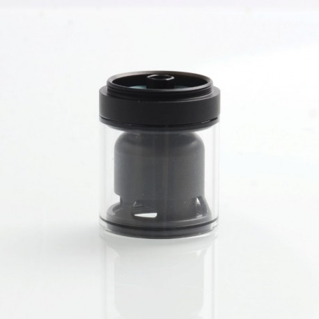 Authentic Ambition-Mods Glass Tank + Inner Chamber + Chimney Set for GATE MTL RTA - Black + Transparent, 2ml