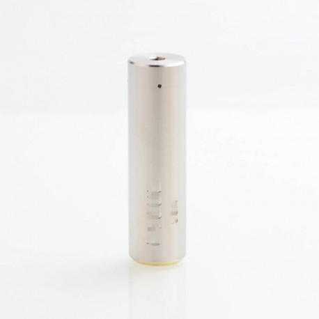 Rogue Style Hybrid Mechanical Mod - Silver, Stainless Steel, 24mm Diameter
