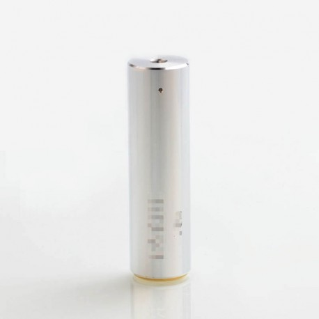 Rogue Style Hybrid Mechanical Mod - Silver, Aluminum 24mm Diameter