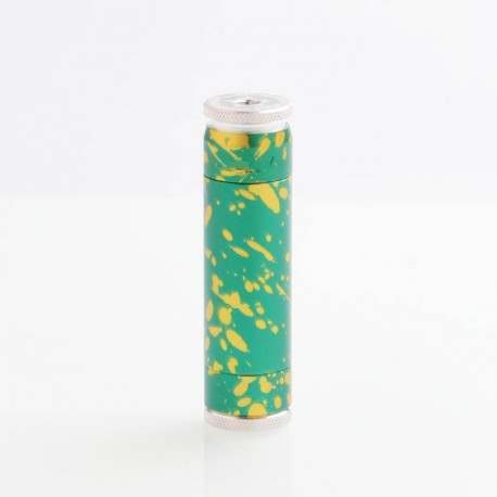 AV Avidlyfe Able Style Mechanical Mod - Green, Aluminum, 1 x 18650