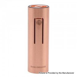 ShenRay Bestia Animal Style 18650 Hybrid Mechanical Mod - Copper, Copper, 1 x 18650, ShenRay Logo