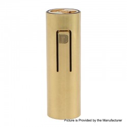 ShenRay Bestia Animal Style 18650 Hybrid Mechanical Mod - Braqss, Brass, 1 x 18650, B Logo