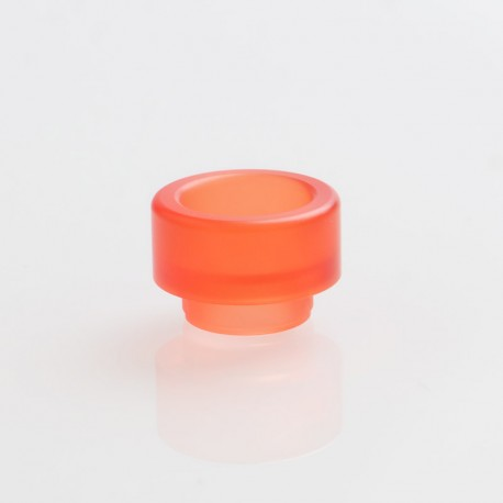 Replacement Wide Bore 810 Drip Tip for Goon / Kennedy / Reload RDA - Red, Acrylic