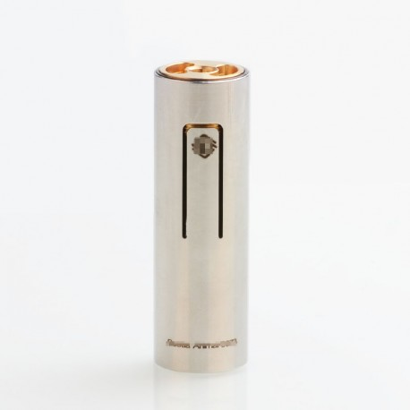 ShenRay Bestia Animal Style 18650 Hybrid Mechanical Mod - Silver, Stainless Steel, 1 x 18650, ShenRay Logo