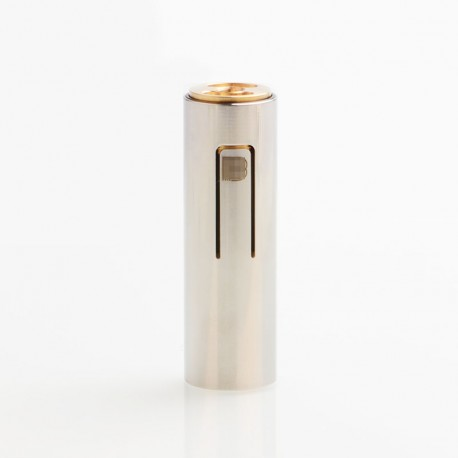 ShenRay Bestia Animal Style 18650 Hybrid Mechanical Mod - Silver, Stainless Steel, 1 x 18650, B Logo
