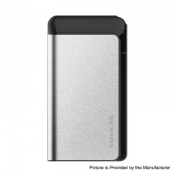 Authentic Suorin Air Plus 930mAh 22W Pod System Starter Kit - Silver, 3.5ml, 0.7ohm / 1.0ohm