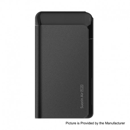 Authentic Suorin Air Plus 930mAh 22W Pod System Starter Kit - Black, 3.5ml, 0.7ohm / 1.0ohm
