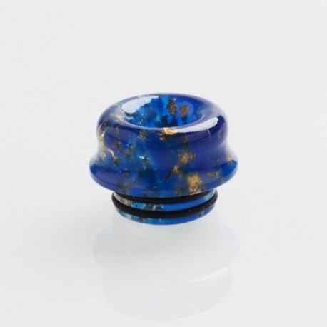810 Drip Tip for TFV8 / TFV12 Tank / 528 Goon / Kennedy / Reload RDA - Blue, Resin, 12.4mm
