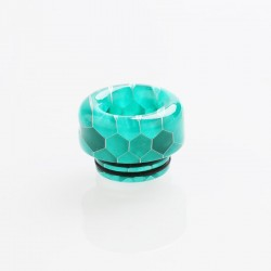 810 Drip Tip for TFV8 / TFV12 Tank / 528 Goon / Kennedy / Reload RDA - Green, Resin, 12.2mm