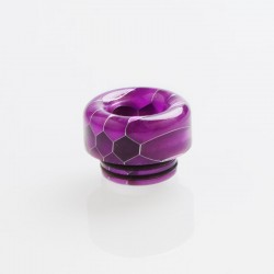 810 Drip Tip for TFV8 / TFV12 Tank / 528 Goon / Kennedy / Reload RDA - Purple, Resin, 12.2mm