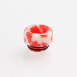 810 Drip Tip for TFV8 / TFV12 Tank / 528 Goon / Kennedy / Reload RDA - Red, Resin, 12.3mm