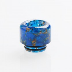 810 Drip Tip for TFV8 / TFV12 Tank / 528 Goon / Kennedy / Reload RDA - Blue, Resin, 15.5mm