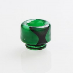 810 Drip Tip for TFV8 / TFV12 Tank / 528 Goon / Kennedy / Reload RDA - Green, Acrylic, 15.1mm