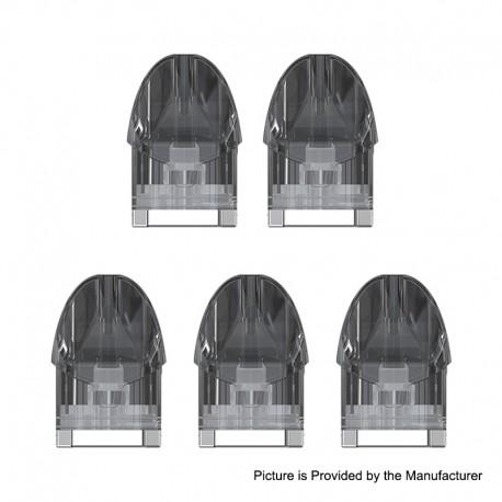 Authentic Eleaf Tance Pod Cartridge for Tance Pod System Starter Kit - Black, 2ml,1.2ohm (5 PCS)