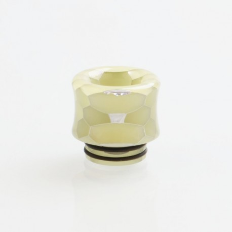 810 Replacement Drip Tip for TFV8 / TFV12 Tank / Goon / Kennedy / Reload RDA - Green, Resin, 18mm, Glow-in-the-Dark