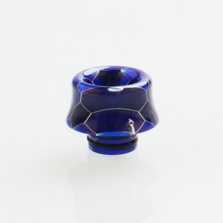 510 Drip Tip for RDA / RTA / RDTA / Clearomizer / Sub Ohm Tank Vape Atomizer - Blue, Resin, 12.8mm