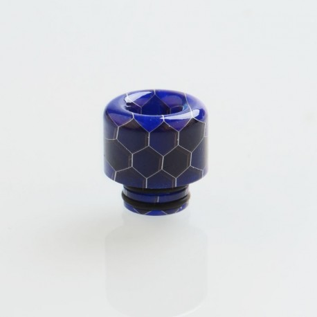 510 Drip Tip for RDA / RTA / RDTA / Clearomizer / Sub Ohm Tank Vape Atomizer - Blue, Resin, 14mm