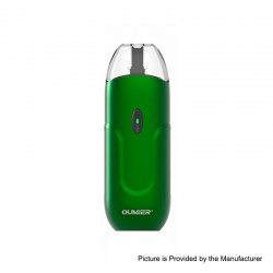 Authentic Oumier O1 10W 650mAh Pod System Starter Kit - Green, 2ml, 1.4ohm