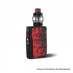 Authentic Vandy Vape Swell 188W VW Variable Wattage Box Mod + Tank Waterproof Kit - Flame Red, 5~188W, 2 x 18650