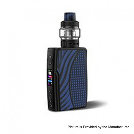 Authentic Vandy Vape Swell 188W VW Variable Wattage Box Mod + Tank Waterproof Kit - Blue Iguana, 5~188W, 2 x 18650