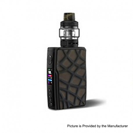 Authentic Vandy Vape Swell 188W VW Variable Wattage Box Mod + Tank Waterproof Kit - Brown Alligator Snapper, 5~188W, 2 x 18650