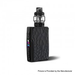 Authentic Vandy Vape Swell 188W VW Variable Wattage Box Mod + Tank Waterproof Kit - Obsidian Black, 5~188W, 2 x 18650