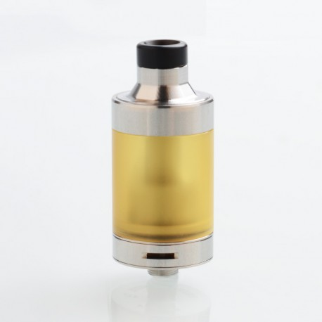 FOUR ONE FIVE 415 Style RTA Rebuildable Tank Atomizer - Silver, 316 Stainless Steel, 4.5ml, 22mm Diameter