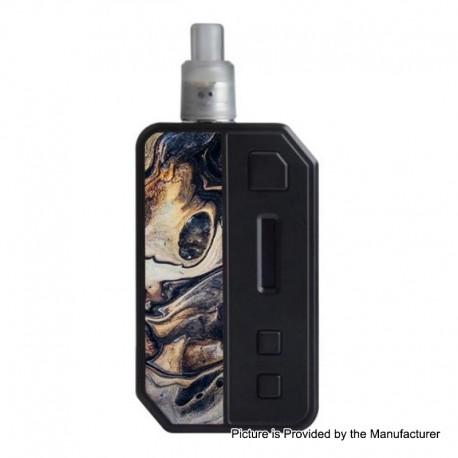Authentic Pioneer4You IPV-3 Mini 30W 1400mAh Auto-Feeding Squonk TC Pod System - Magical Black M1, 3.5ml