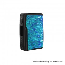 Authentic Vandy Vape Swell 188W VW Variable Wattage Box Mod - Wave Blue, 5~188W, 2 x 18650
