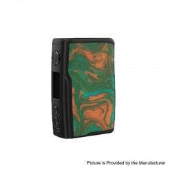 Authentic Vandy Vape Swell 188W VW Variable Wattage Box Mod - Swamp Green, 5~188W, 2 x 18650