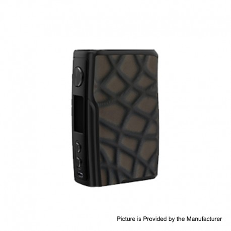Authentic Vandy Vape Swell 188W VW Variable Wattage Box Mod - Brown Alligator Snapper, 5~188W, 2 x 18650