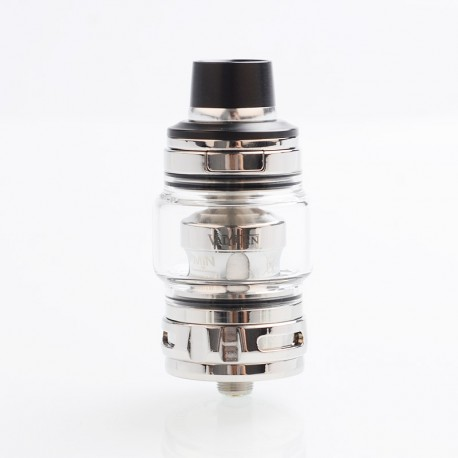 Authentic Uwell Valyrian 2 II Sub Ohm Tank Atomizer - Silver, SS + Pyrex Glass, 6ml, 0.32ohm, 29mm Diameter